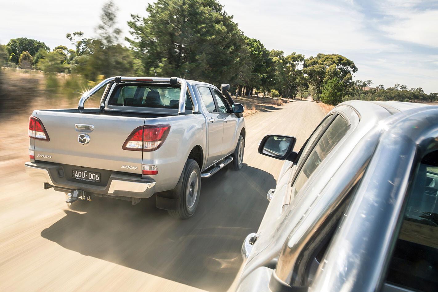 2018 Mazda BT-50 facelift