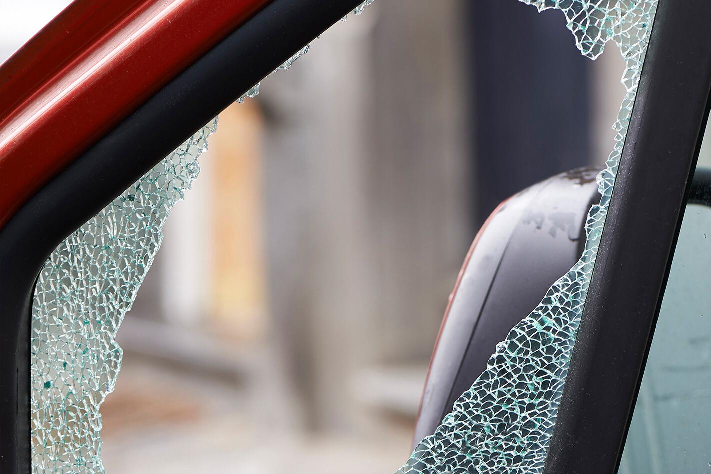 Anti Theft Broken Window Jpg