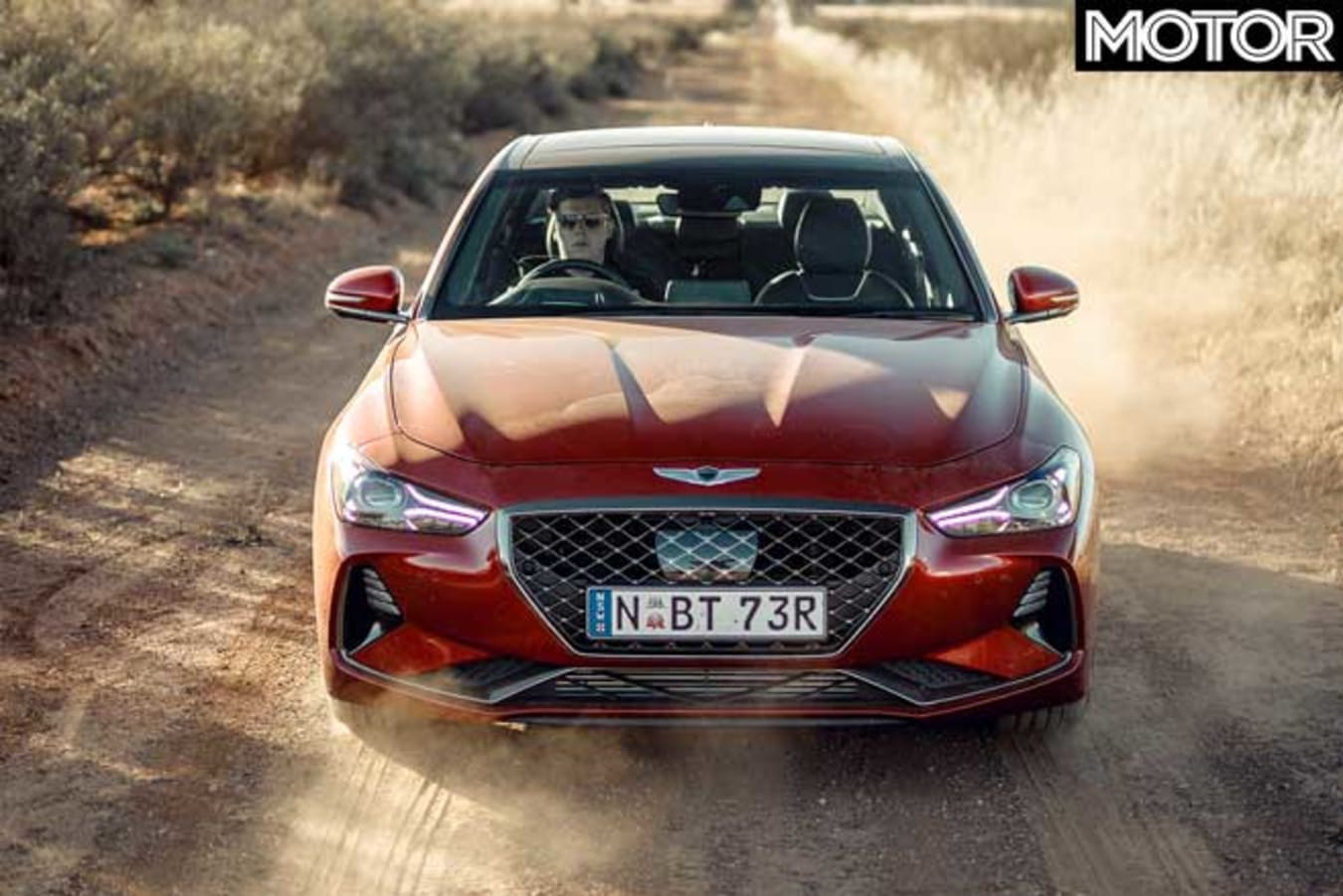 Genesis G 70 Performance Car Of The Year 2020 Front Jpg