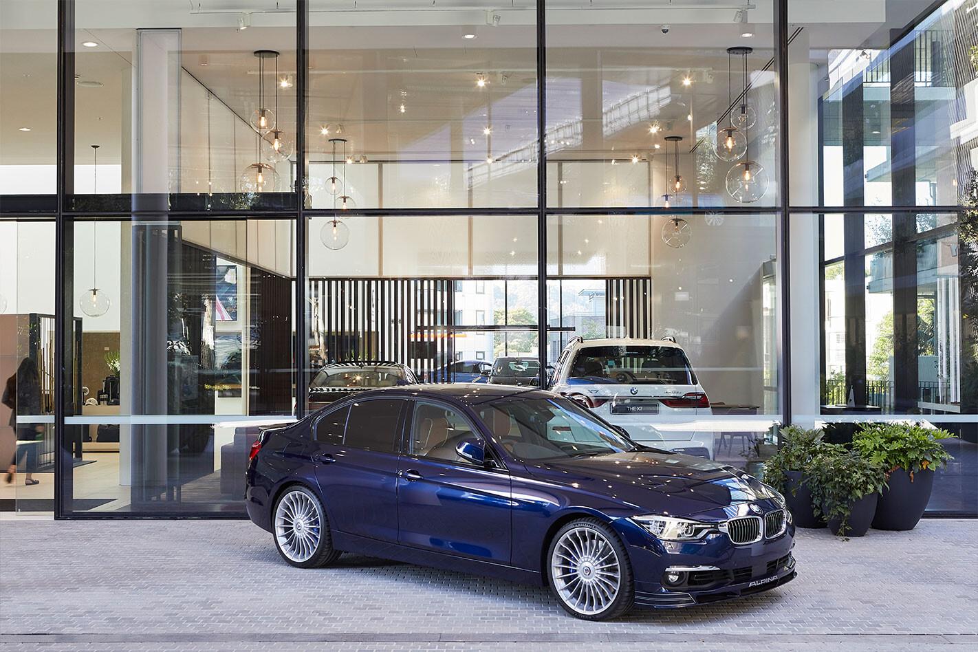 BMW's new designer dealership