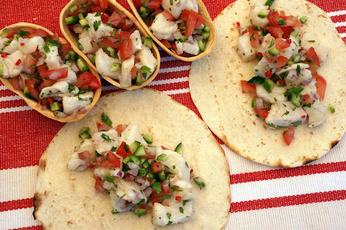 Recipes Mexican-Style Ceviche main
