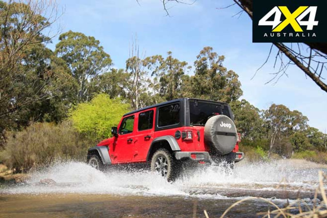 Jeep Wrangler Rubicon V 6 Water Crossing Rear Jpg