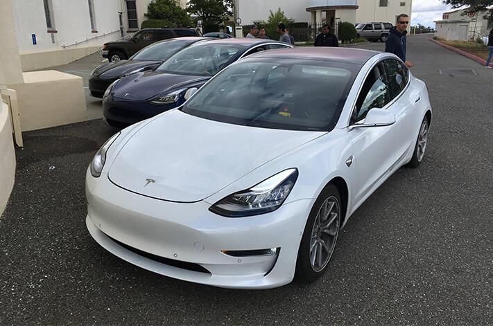 Tesla Model 3 Front Quarter Jpg