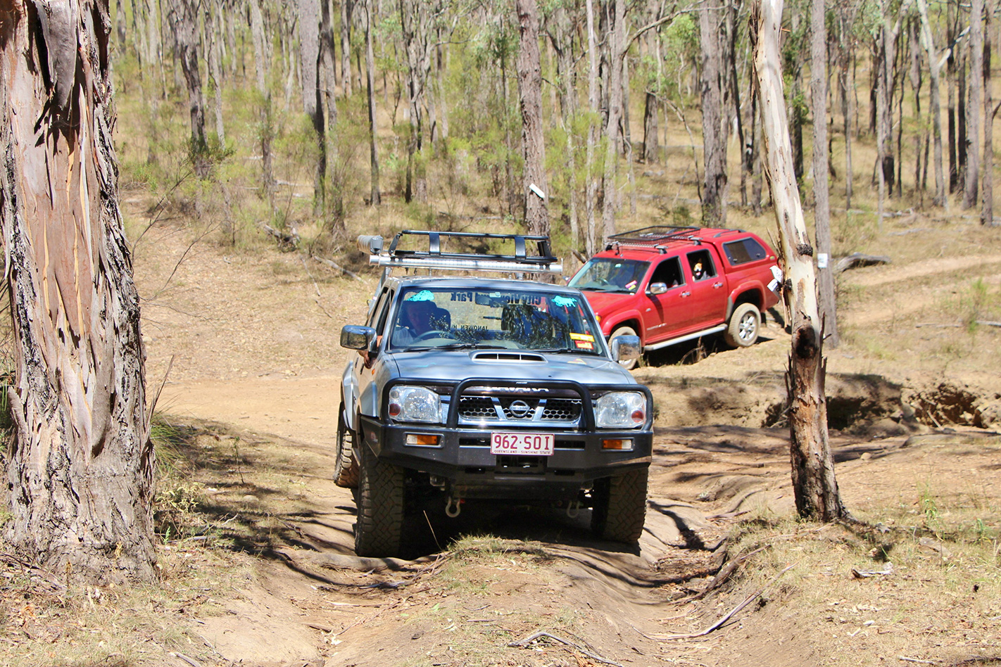 The Springs 4X4 Adventure Park offroading
