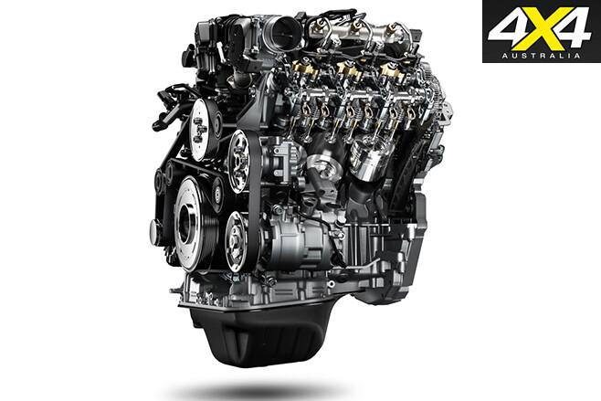 New volkswagen amarok V6tdi engine