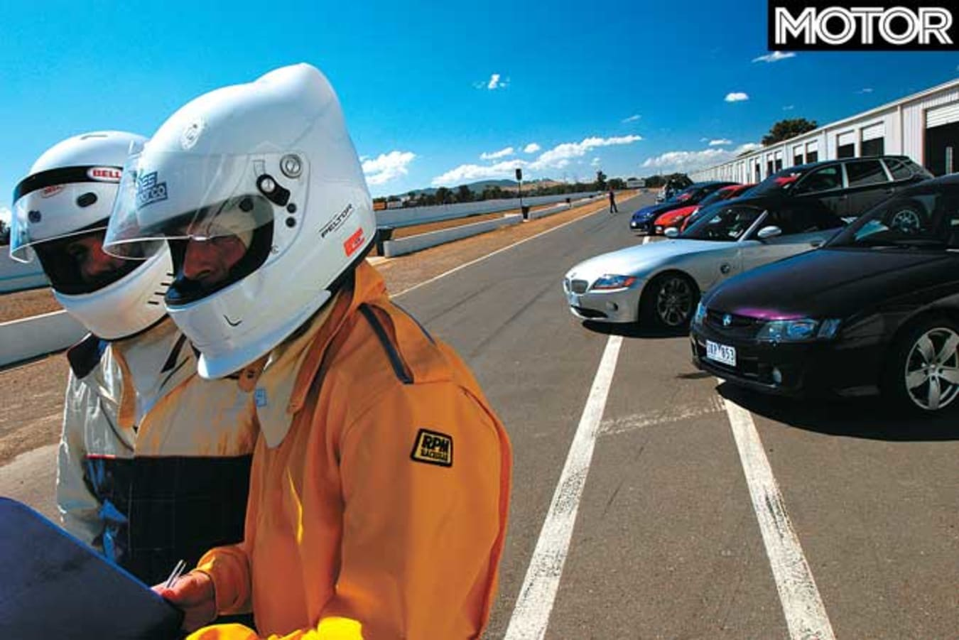 Performance Car Of The Year 2004 Readers Take Winton Drive Jpg