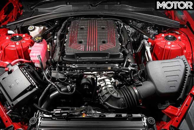 2019 Chevrolet Camaro ZL 1 Engine Jpg