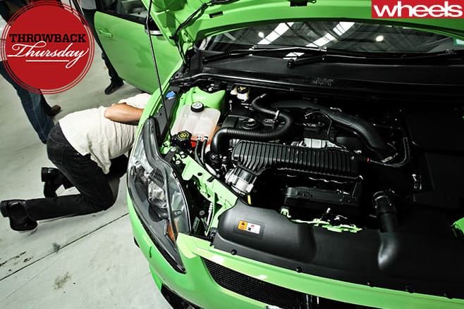 Ford -Focus -RS-engine
