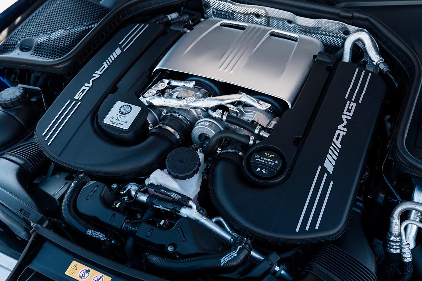 Mercedes Amg C 63 S Engine Jpg