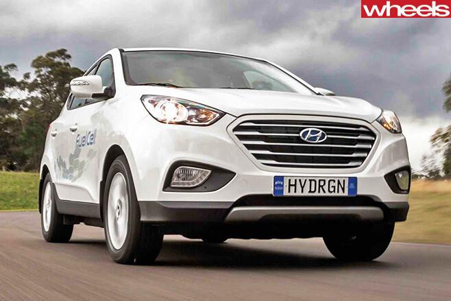 Hyundai -ix 35-hydrogen -front -side -driving