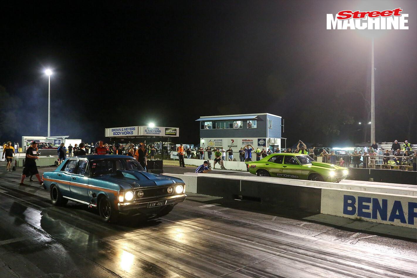 Benaraby Raceway Results