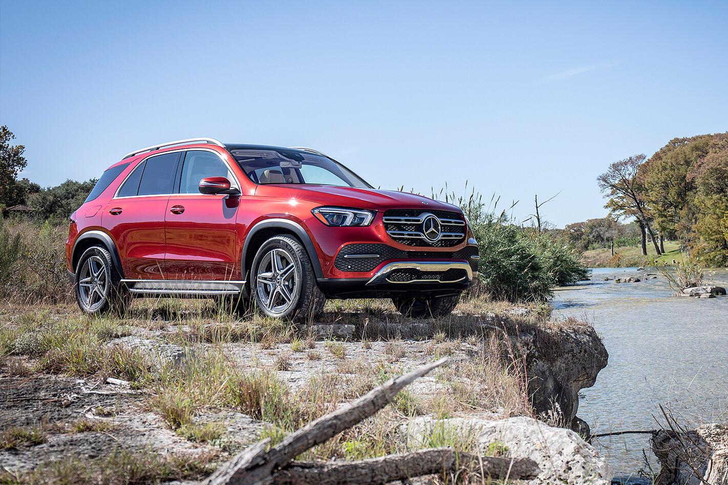 Mercedes Benz Gle Qtr Jpg