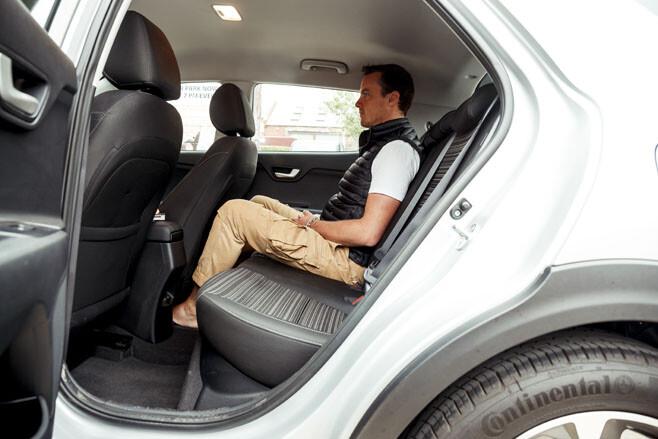 Kia Stonic rear seat