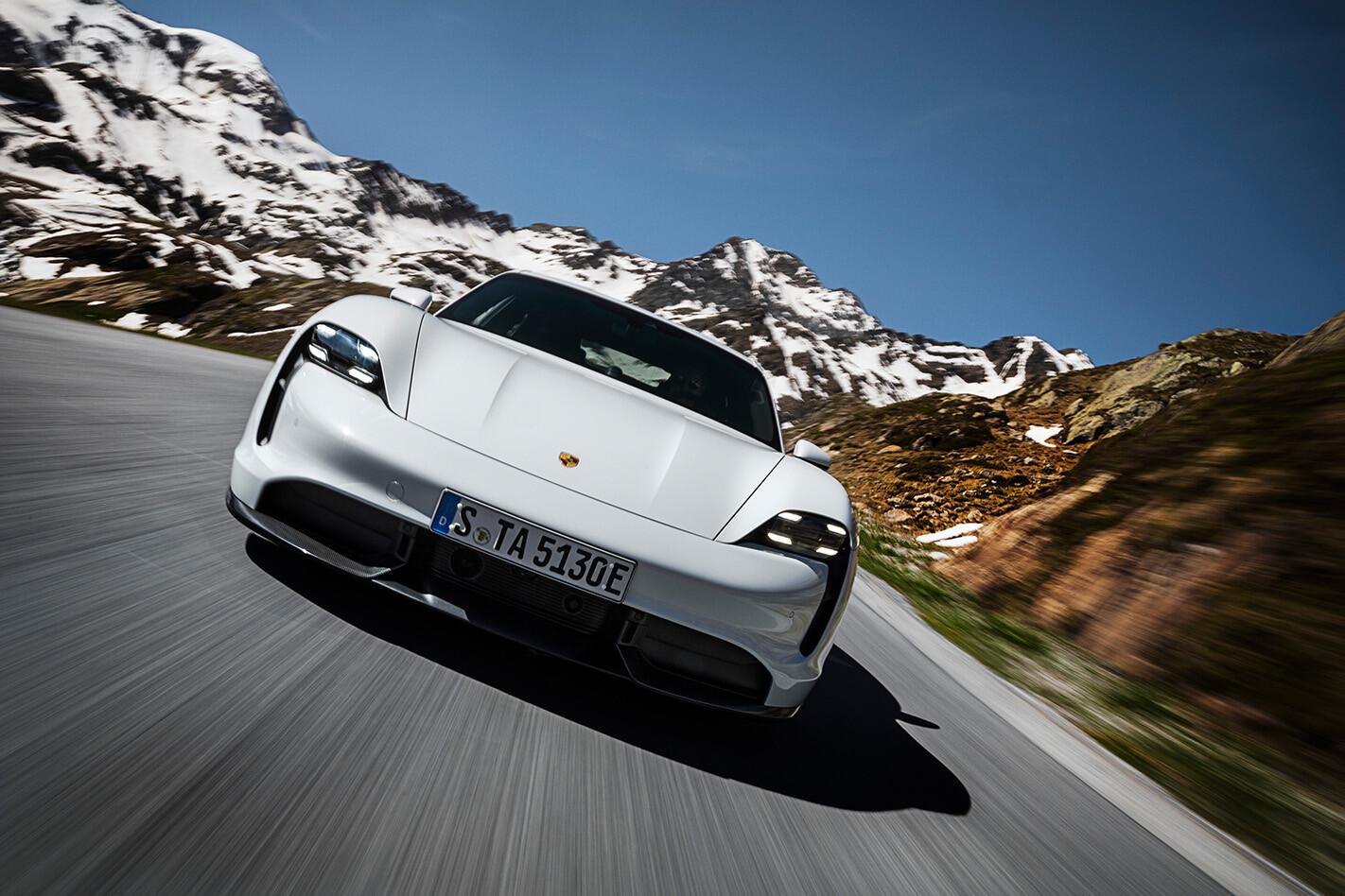 Porsche Taycan Driving Jpg