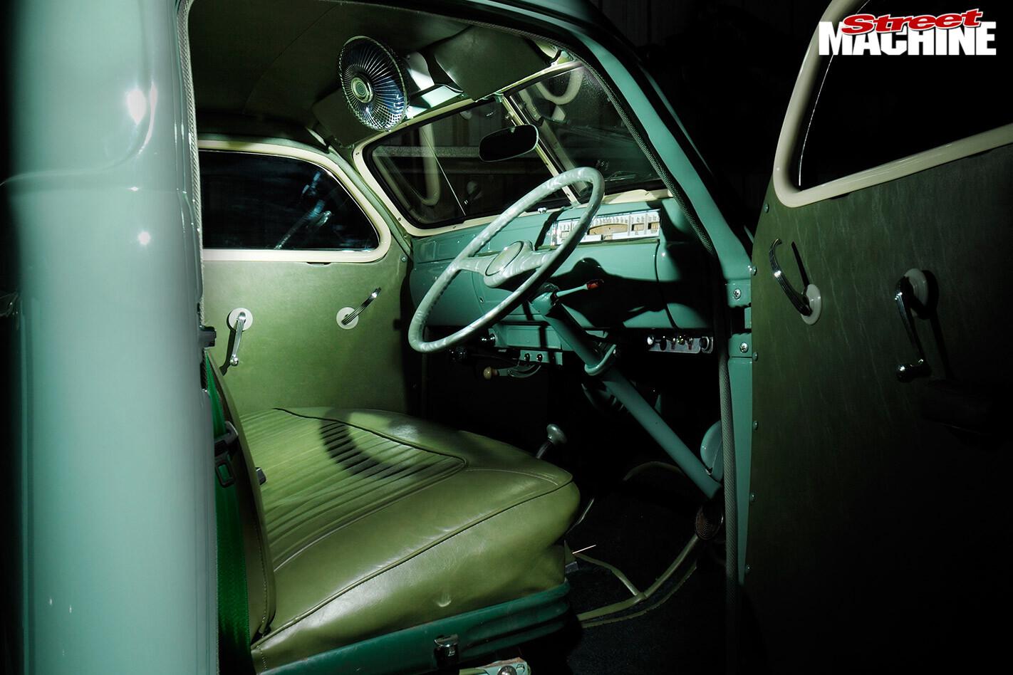 1948 Studebaker M5 pickup interior