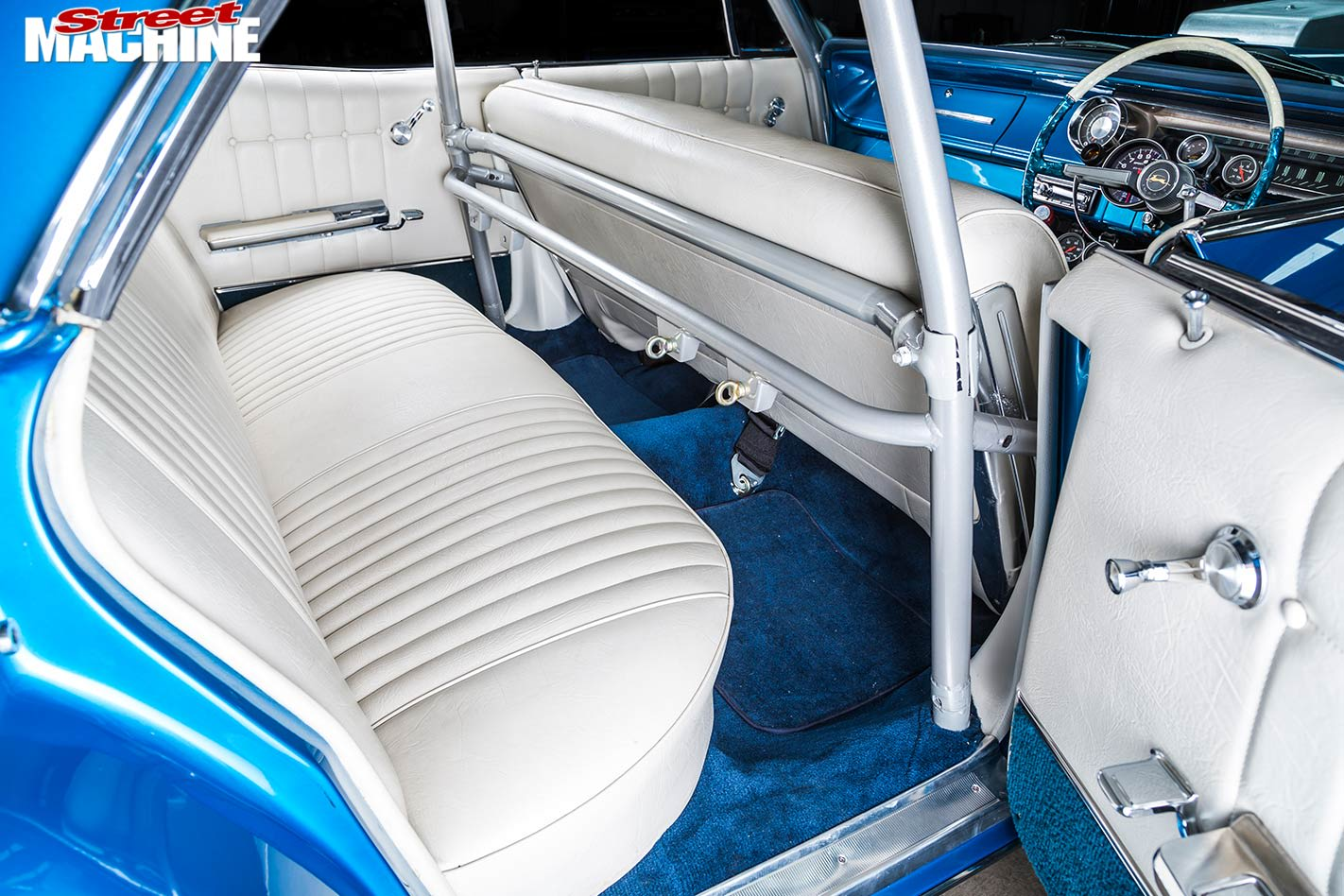 Chev Impala interior rear