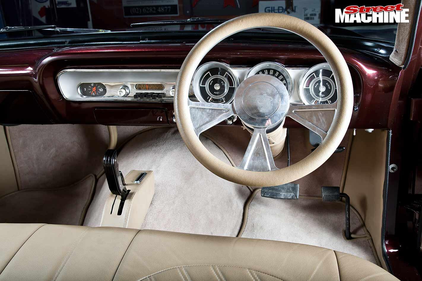 Ford Compact Fairlane dash