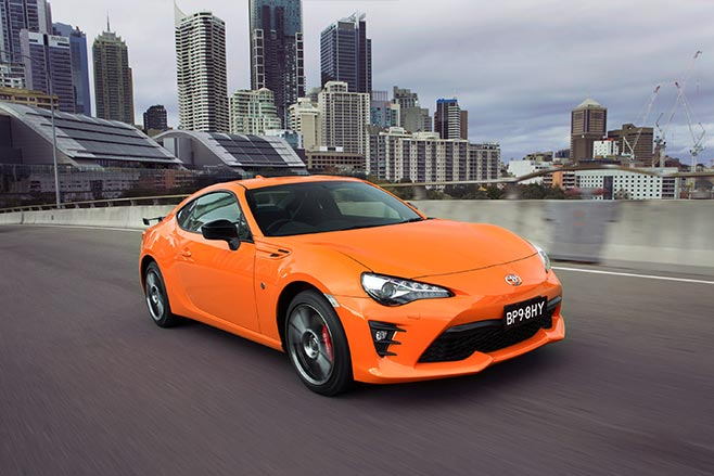 Limited edition Toyota 86