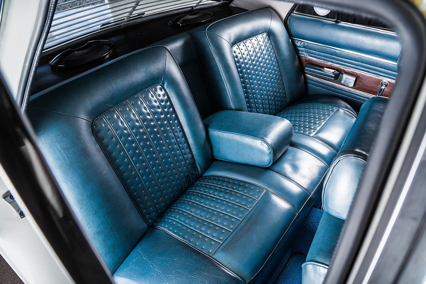 Chrysler Valiant interior rear