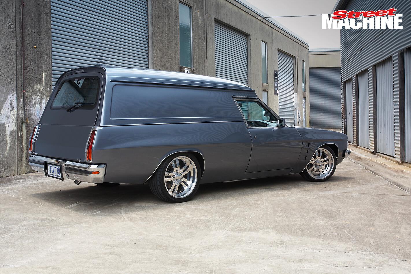 HZ Holden Panel Van 10