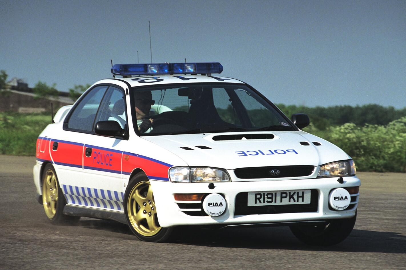 Subaru Impreza WRX police