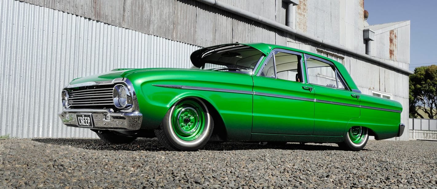 Custom meets lowrider in 60s-inspired XM Falcon