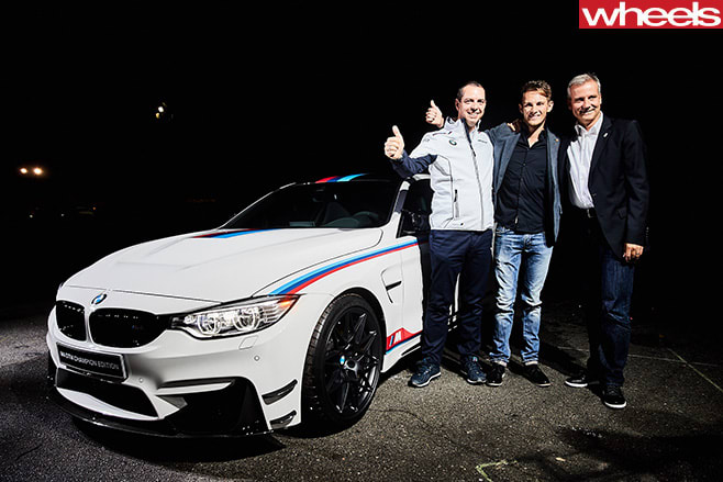BMW-M4-DTM-front -side -with -people
