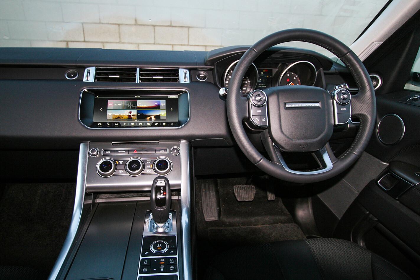 Range Rover Sport SD4 interior