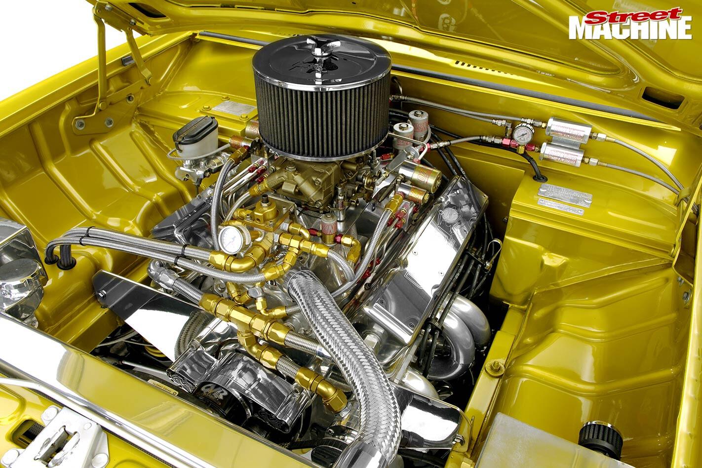 Holden HB Torana engine bay