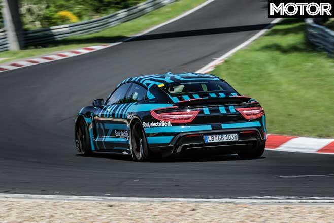 Porsche Taycan Rear Jpg