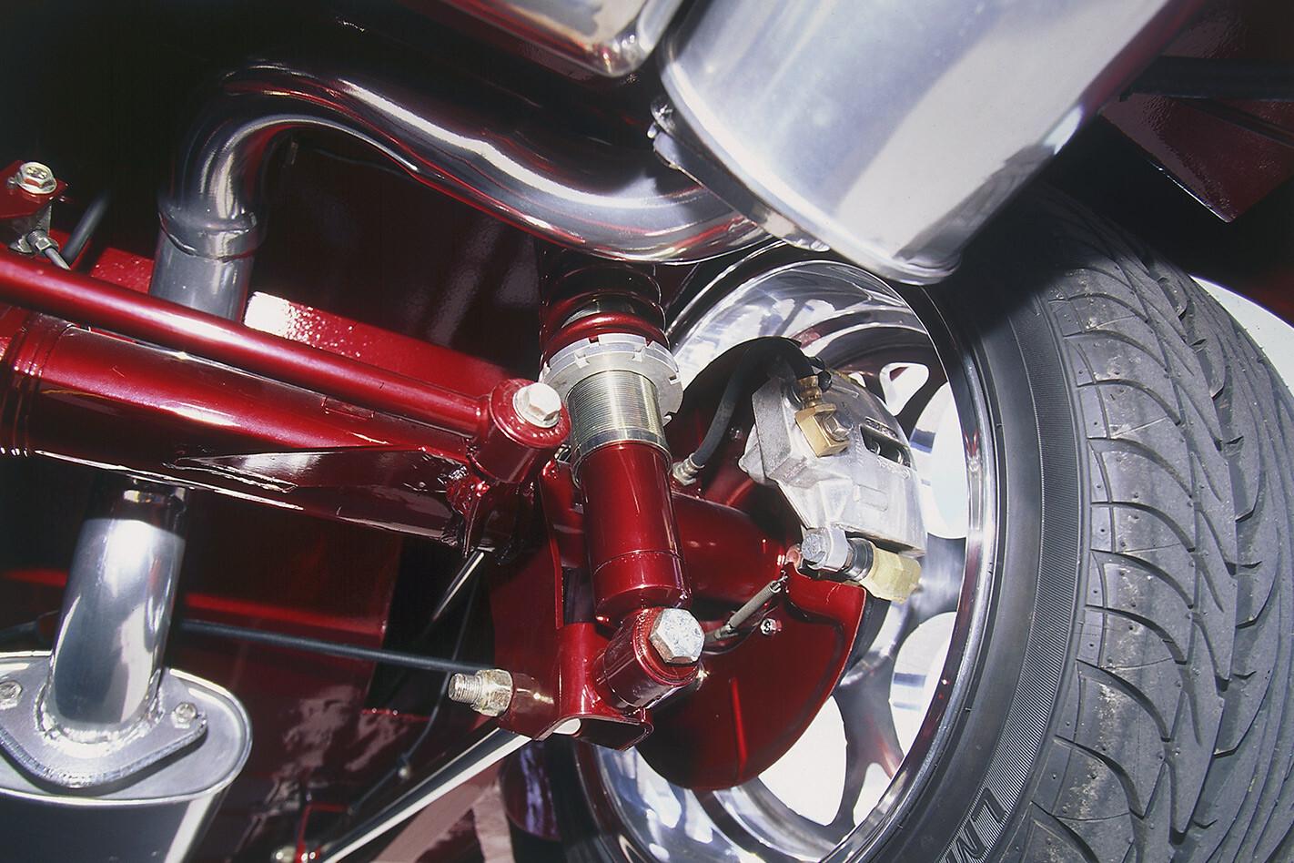 Holden FX suspension