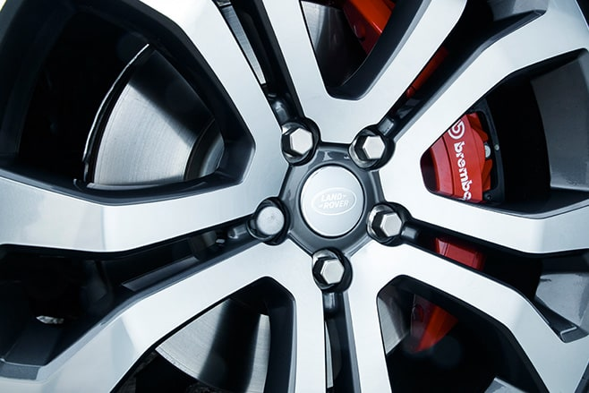 2017 Range Rover SVA Dynamic wheels