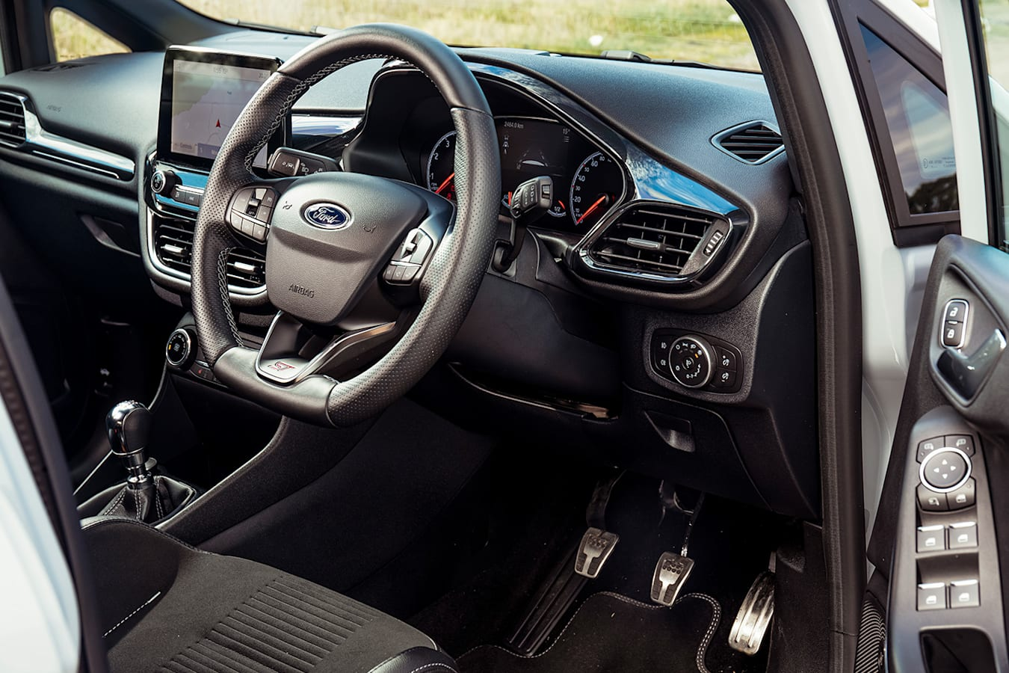 Ford Fiesta ST V Toyota 86 Interior Ford Jpg