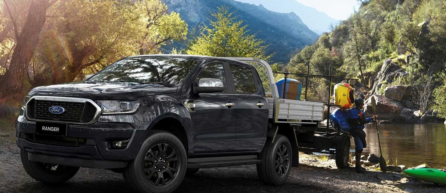 2021 Ford Ranger XLT Double Cab Chassis