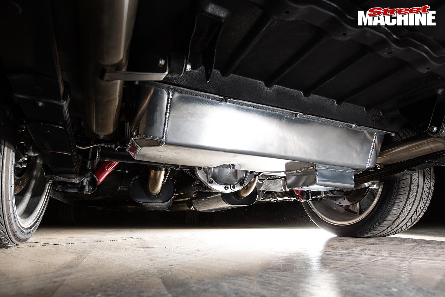 Holden HK wagon fuel tank