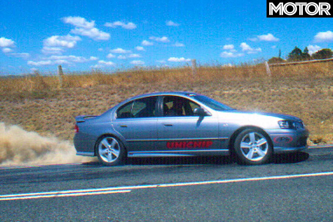 2004 APS Falcon Phase III XR 6 T Hot Tuner Wheelspin Jpg
