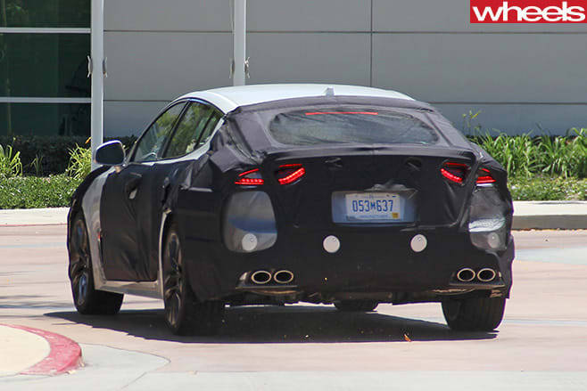 Kia -GT-Sports -Sedan -rear