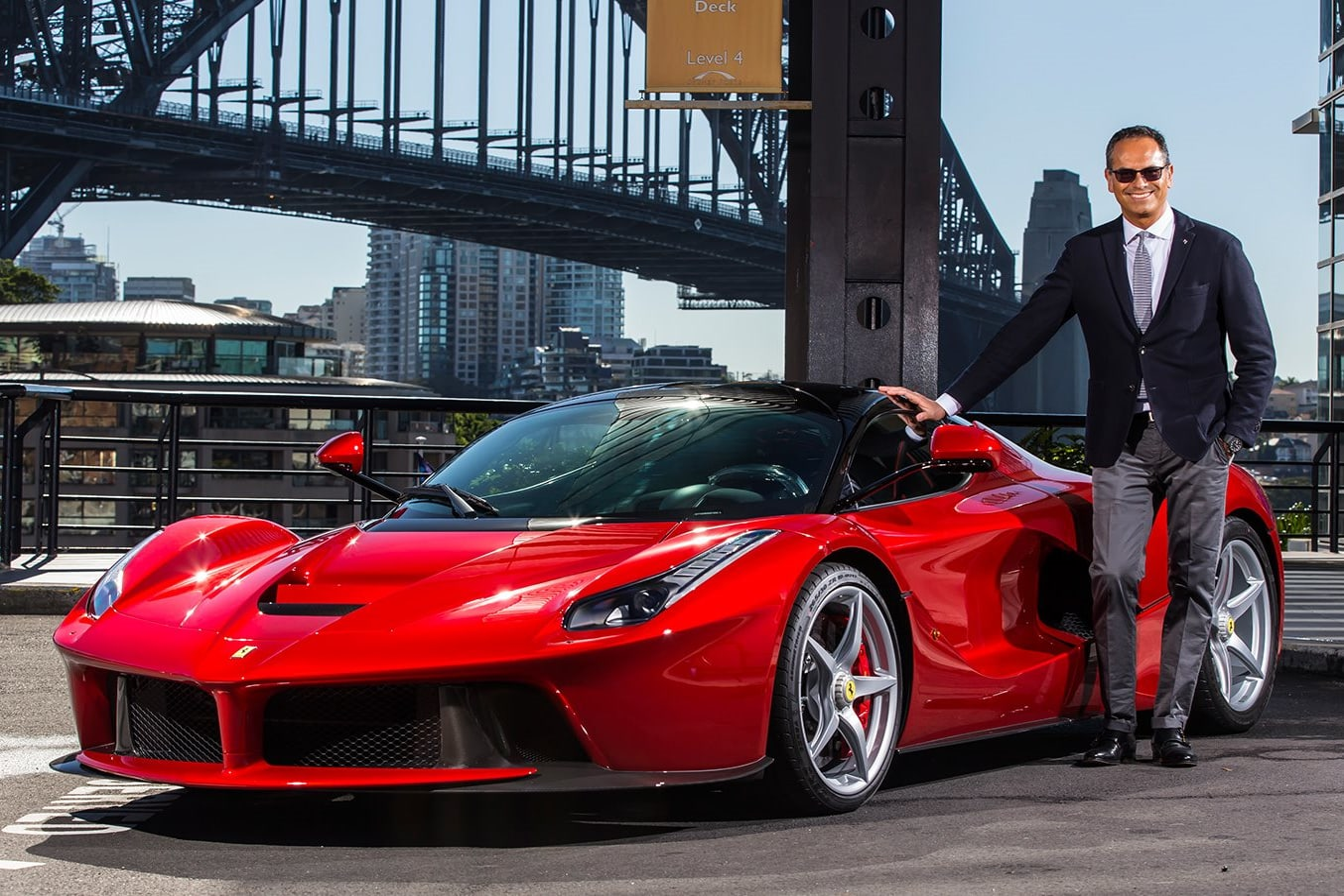 Ferrari's and Flavio Manzoni