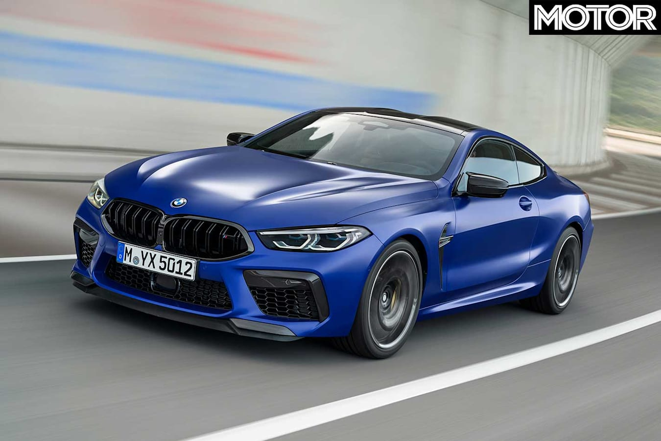 2020 BMW M 8 Coupe Front Dynamic Jpg