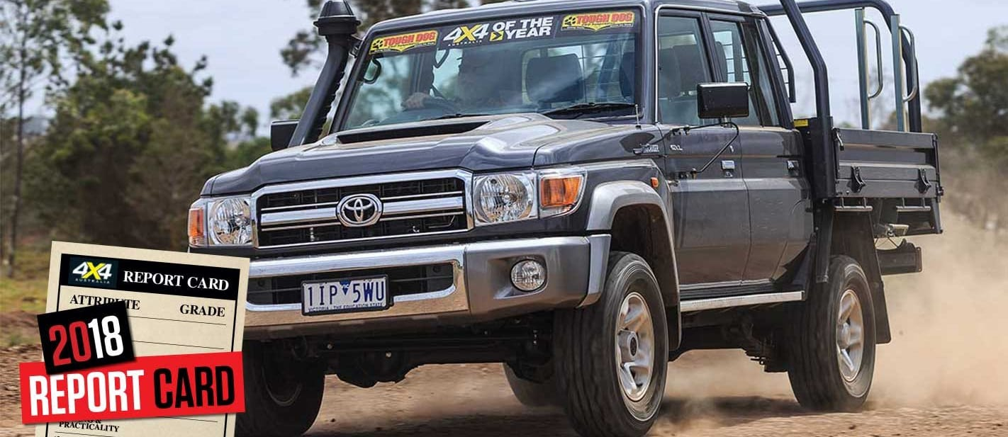 Mid-2018 4x4 Sales Report Card Toyota Land Cruiser 79 Series