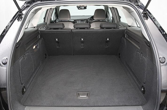 Holden Astra Sportwagon boot