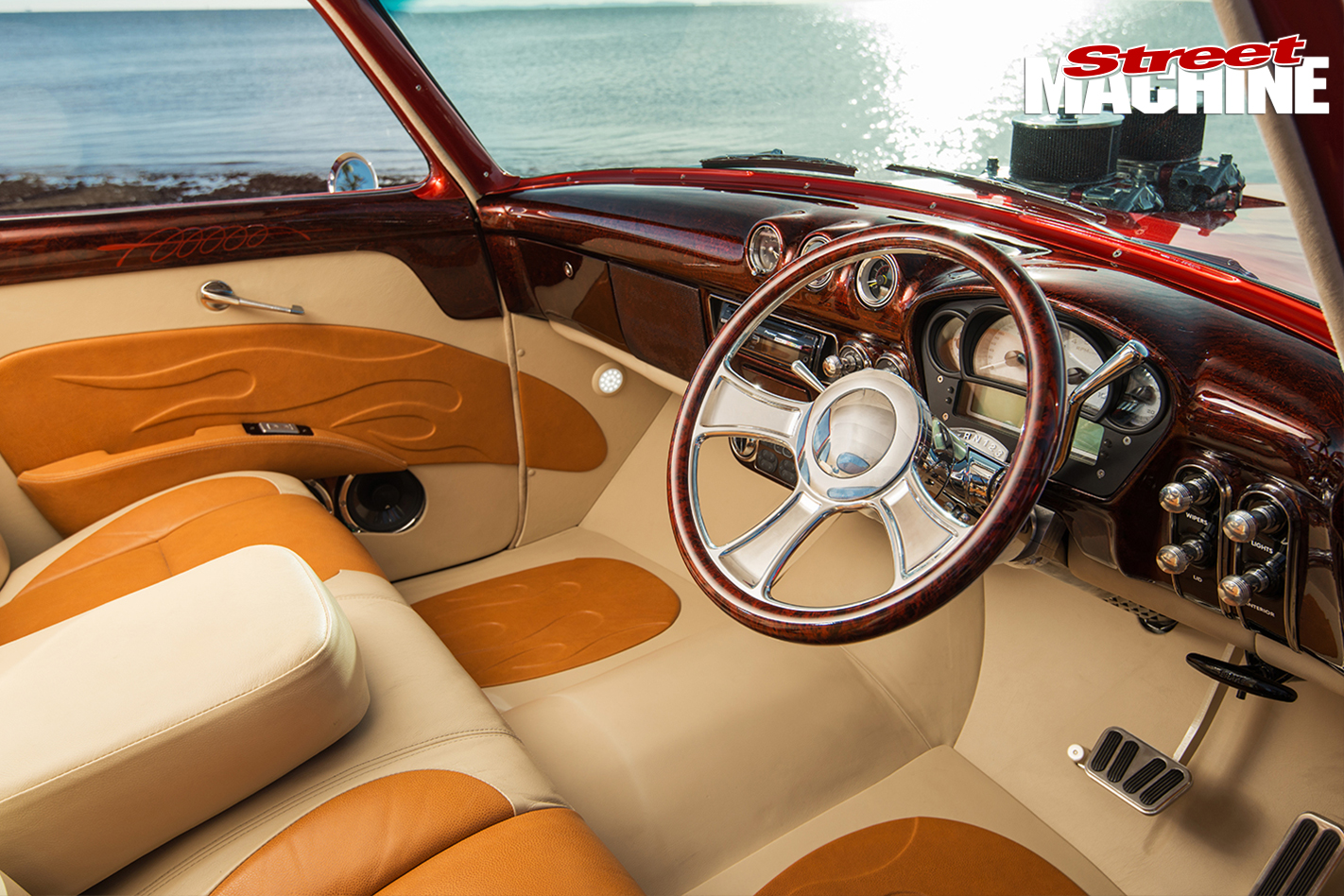 Ford -mainline -ute -old -skool -interior -1