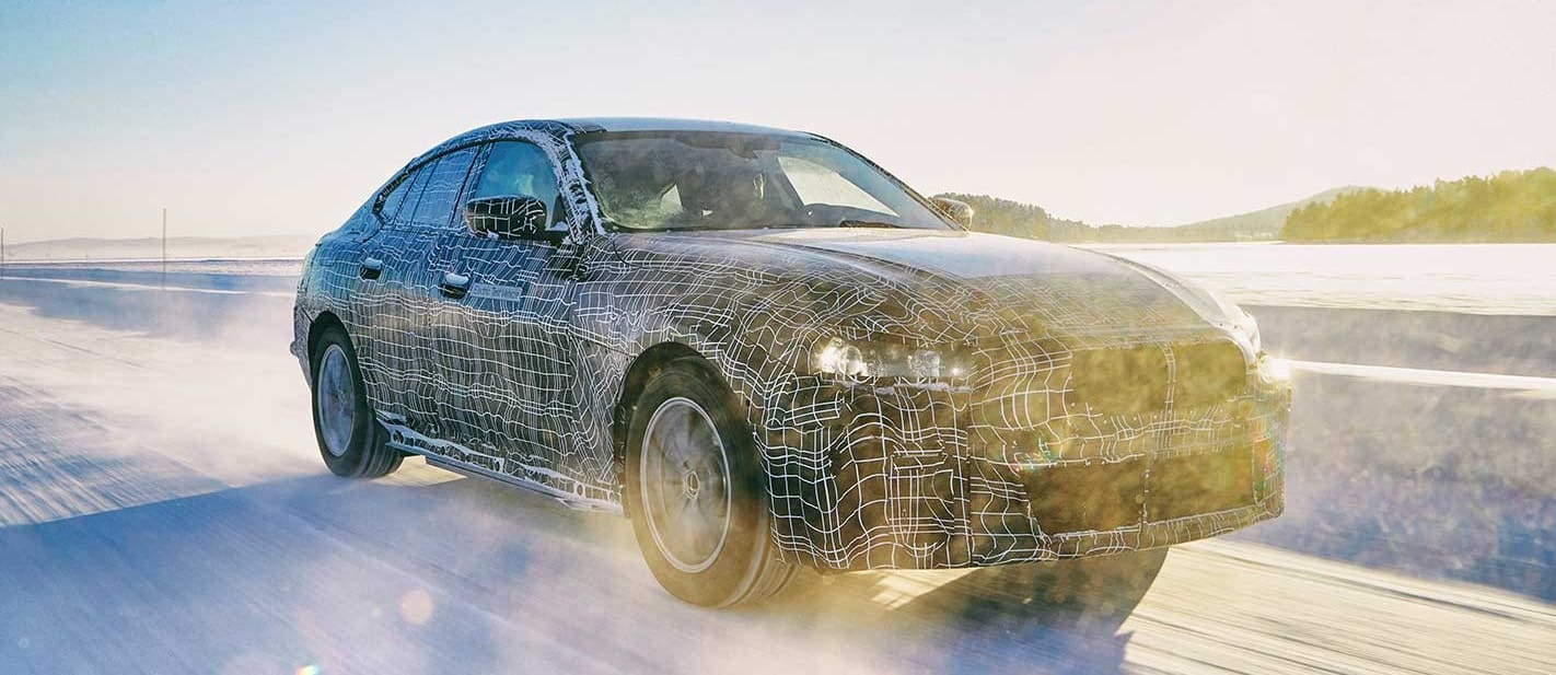 BMW i4 all-electric drivetrain preview