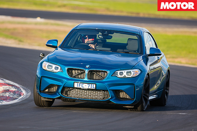 BMW M2 Pure driving