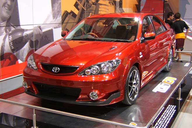 Toyota Camry TS-01 at the 2005 Sydney Motor Show.
