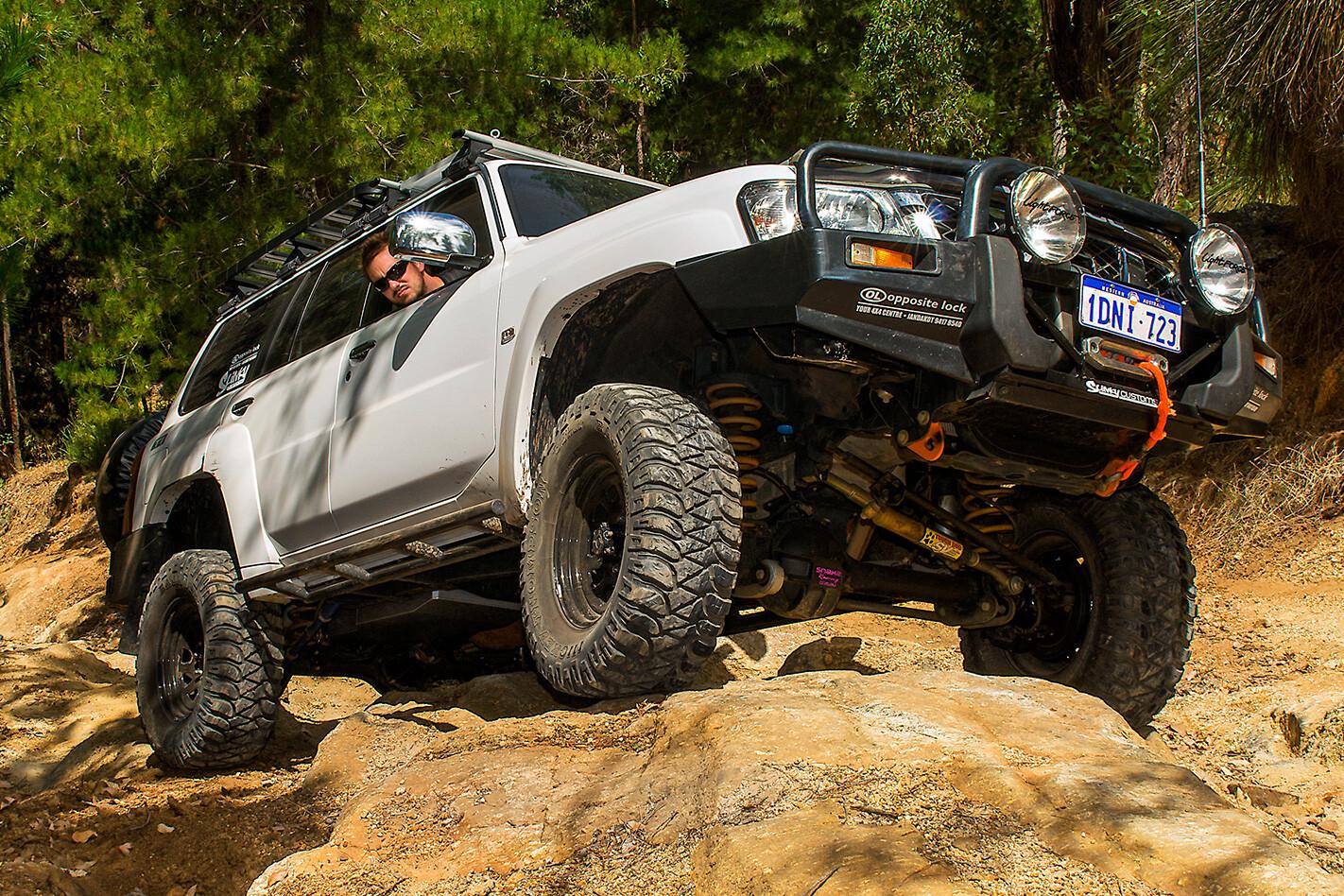 2010 Nissan Patrol GU7 Ti rough terrain