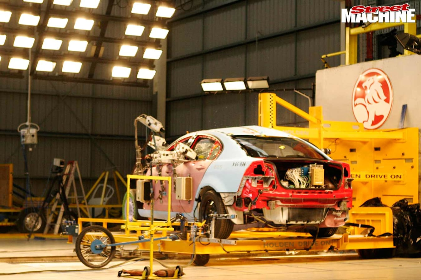 Holden Commodore VE production