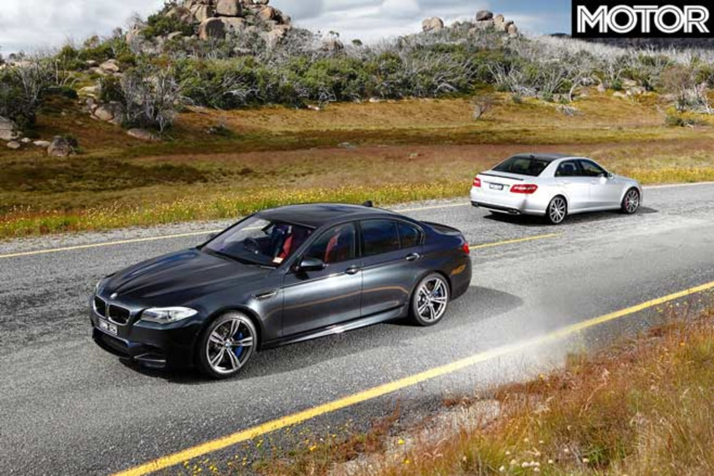 2010 BMW M 5 Vs Mercedes Benz E 63 AMG Comparison Test Jpg