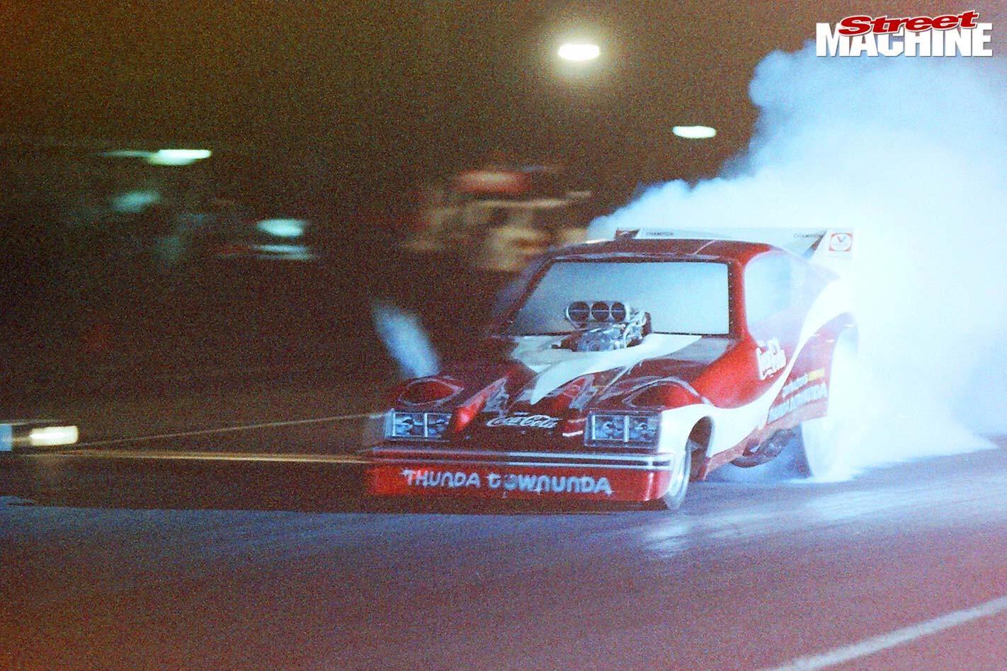 Aussie Drag Racer Jim Walton