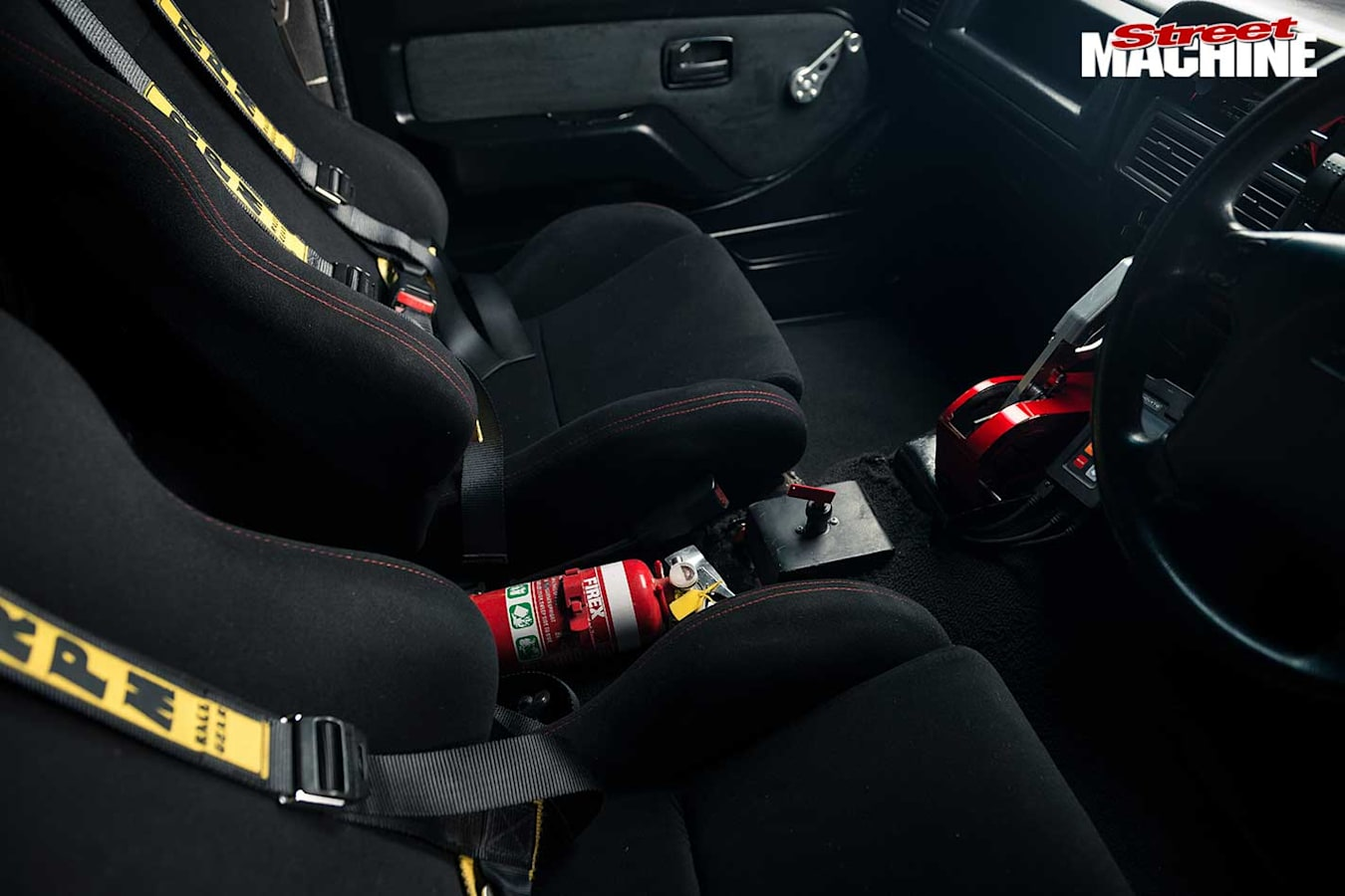 LS-powered Rodeo seats